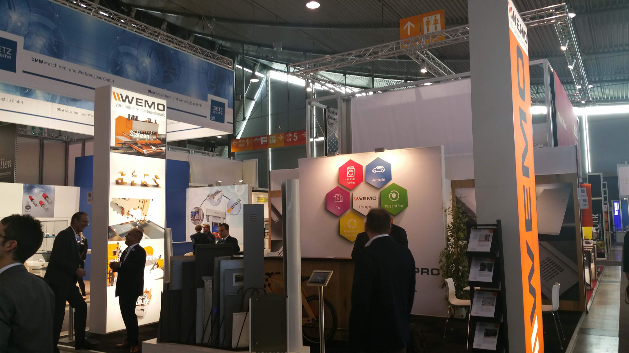 Recap: WEMO auf der Blechexpo in Stuttgart-2015