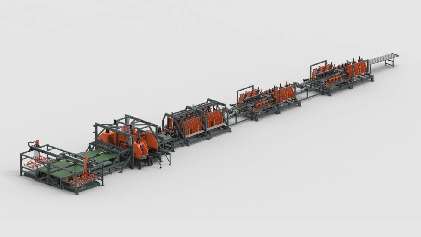 Electrical Enclosures Sheet Metal Punching Welding Bending Production Line