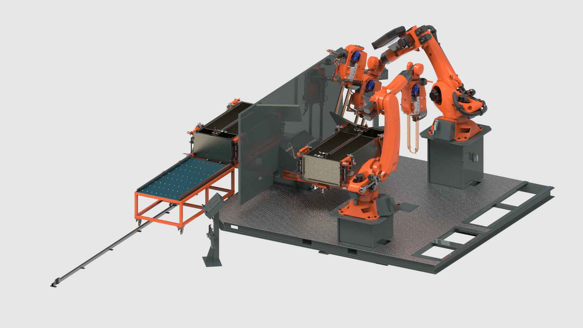 Sheet Metal Robotic Welding For Cabinet Systems