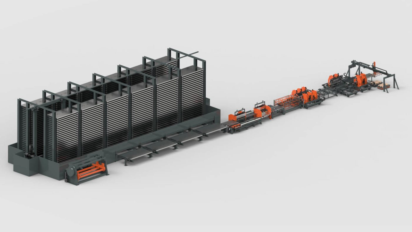 WEMO Ceiling Tiles Sheet Metal Storage System Punching Bending Production Line