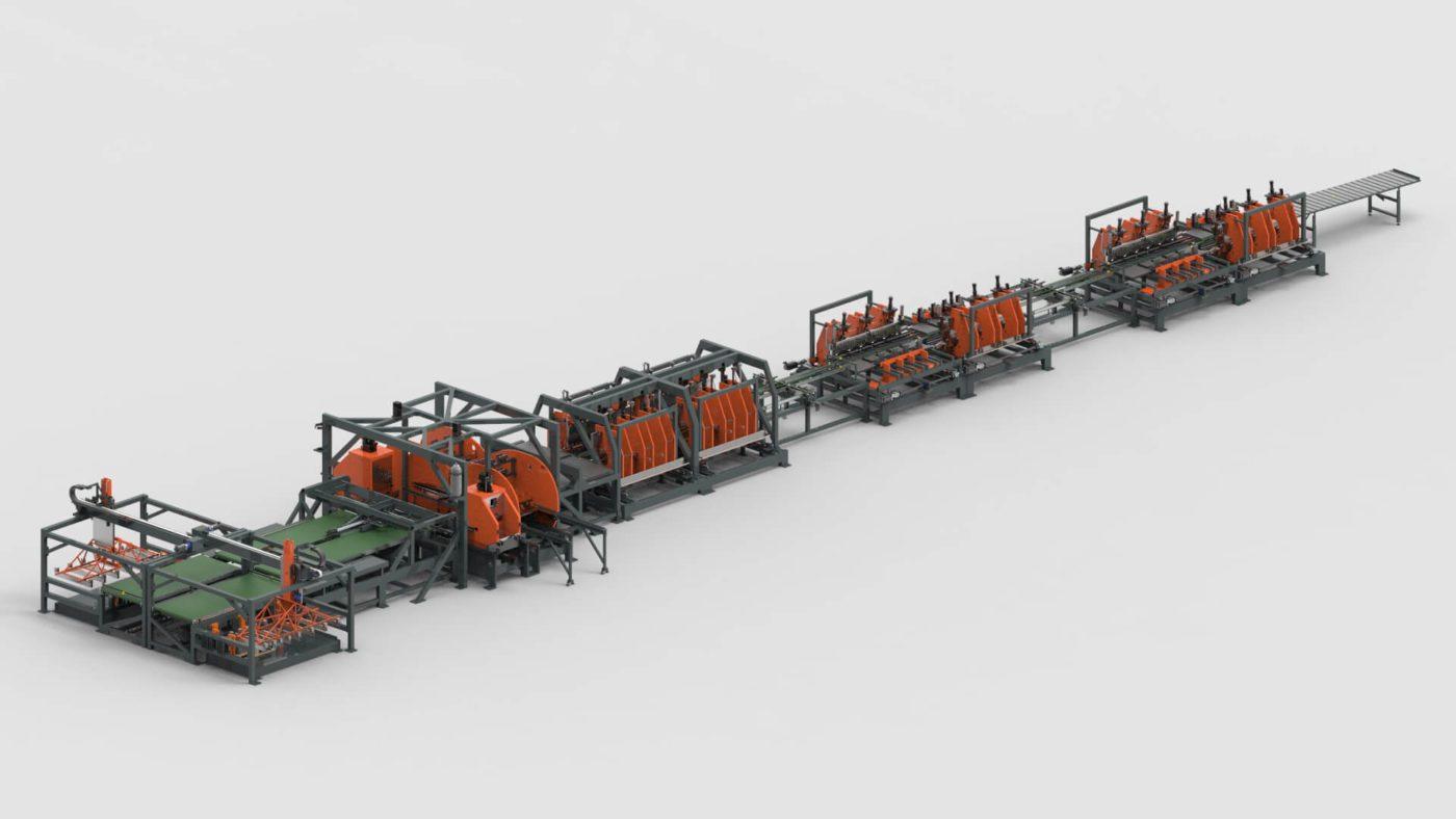 Schaltschränke Blechbearbeitung Stanzen Biegen Produktionslinie