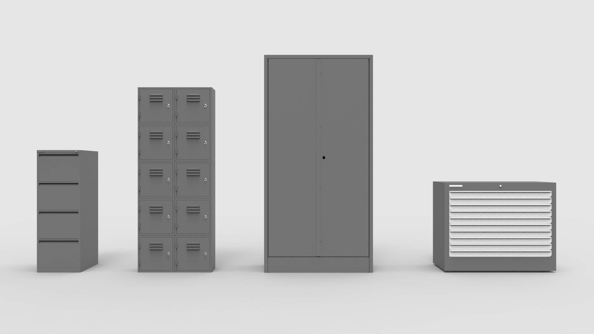 Steel Cabinets Types Overview