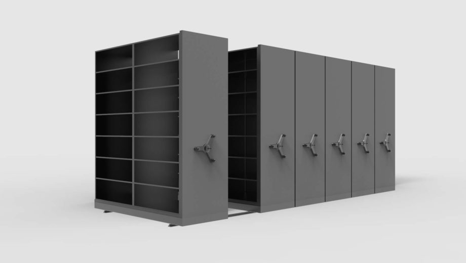 Steel Mobile Shelving System for Cabinet Systems Product
