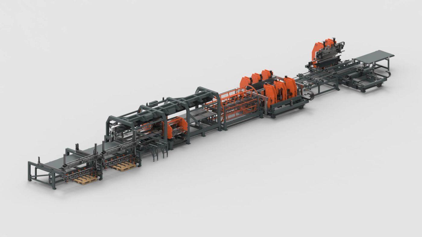 WEMO Stahltüren Blechbearbeitung Stanzen Biegen Produktionslinie