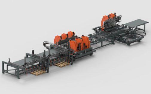 Lernen Sie unsere neue Produktionlinie für Stahltüren kennen