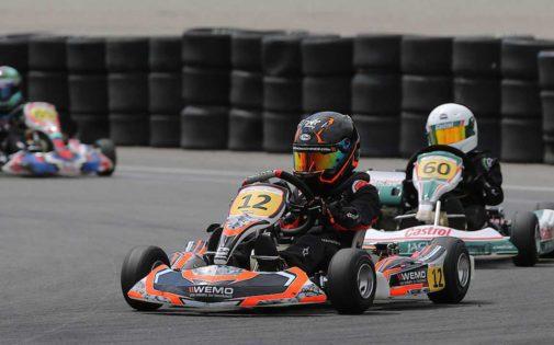 WEMO is proud to support karting talent Devon Hagelen