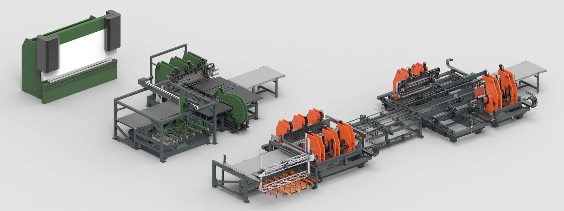 Kantbank, plaatbuigmachine of een volledig geautomatiseerde platen buiglijn? Wat is het verschil?