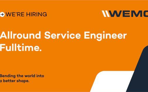 Allround Service Engineer – Fulltime