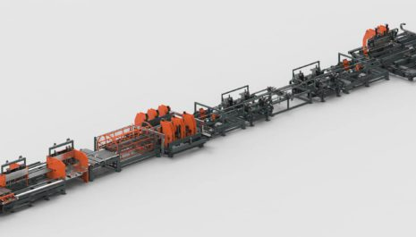 European e-commerce continuous to grow, logistics industry replaces stand-alone panel benders for fully automated panel bending lines